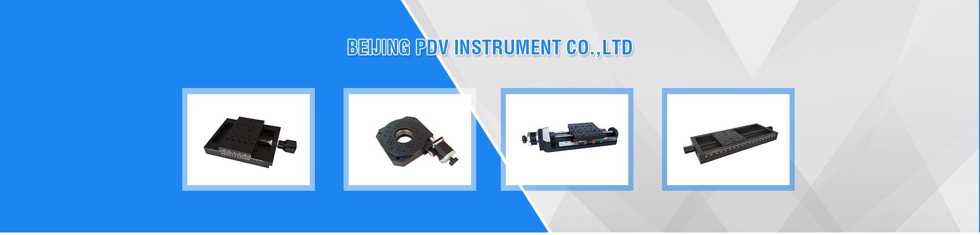 XY Mobile Platform, Manual Translating Stage, Optical Table PT-100