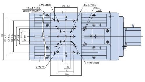 Electric Translating Platform, 50Mm-500Mm Travel