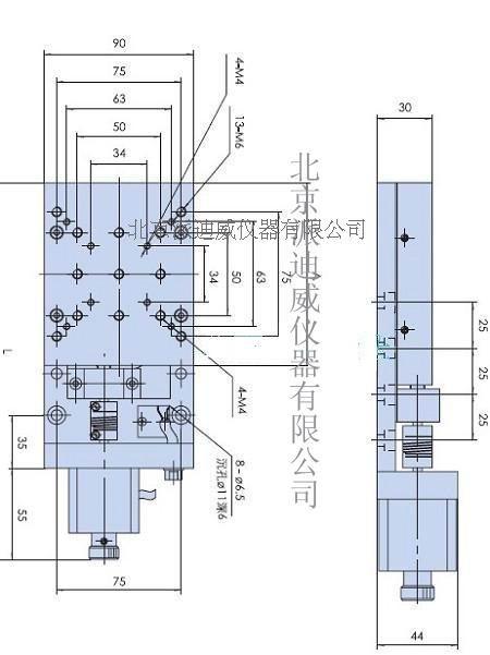 PT-GD102PPrecise Electric Translating Platform