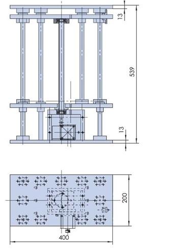 Electric Lifting Platform, Motorized Lab Jack, Elevator, Optical Sliding Lift PS20-300