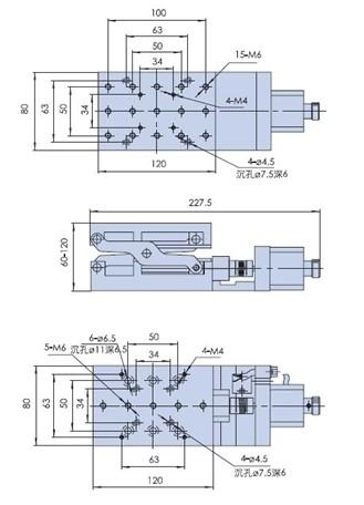Electric Lifting Platform, Motorized Lab Jack, Elevator, Optical Sliding Lift PT-GD401