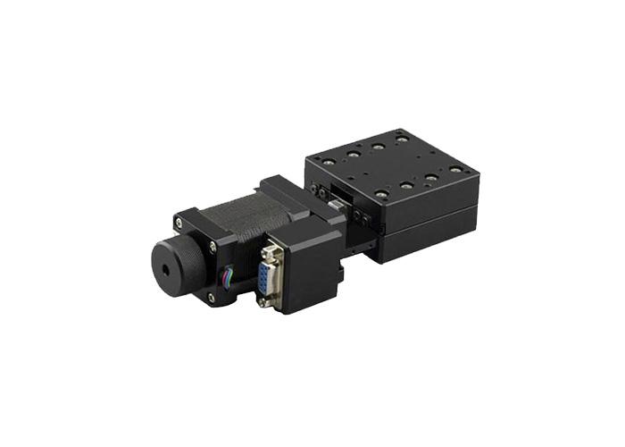 PP110-20 电动平移台 X轴电动移动滑台 台面60*60 行程±10