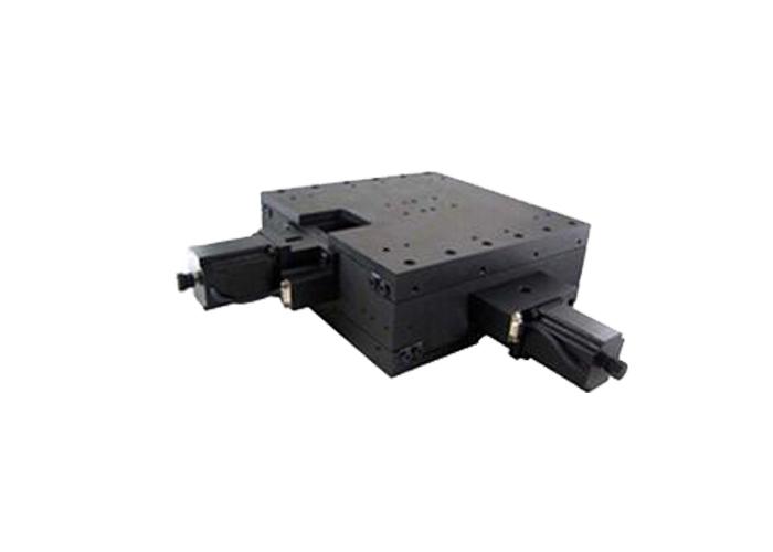 PT-XY170高精密螺杆电动XY整体平移台 台面尺寸300*300 行程170m