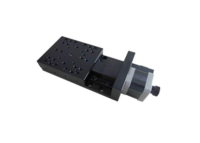 PP110-30超薄电控平移台精密电动位移台光学实验交叉滚柱导轨模组
