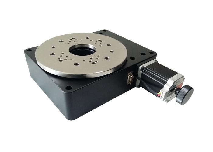 PT-GD204 高精度电动旋转台 360度旋转 蜗轮蜗杆 转盘 分度盘