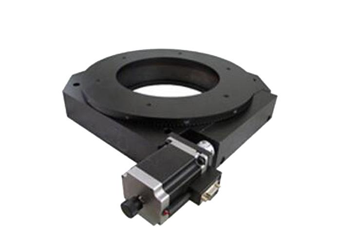 PX110-400 精密型电动旋转台(蜗轮蜗杆)旋转台 任意角度分度盘