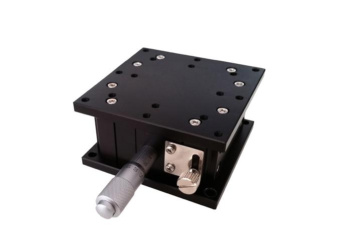 PT-SD14手动精密升降台 水平Z轴位移台 光学实验平台 升降台支架