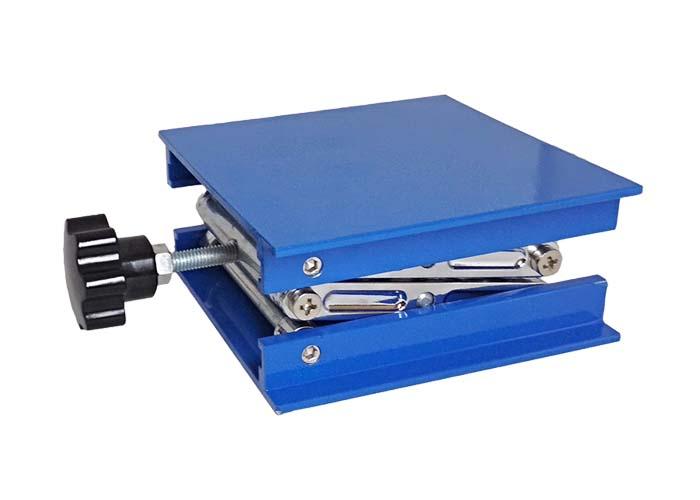 Pt-ls01 laboratory manual lifting platform, small lifting platform, simple lifting platform